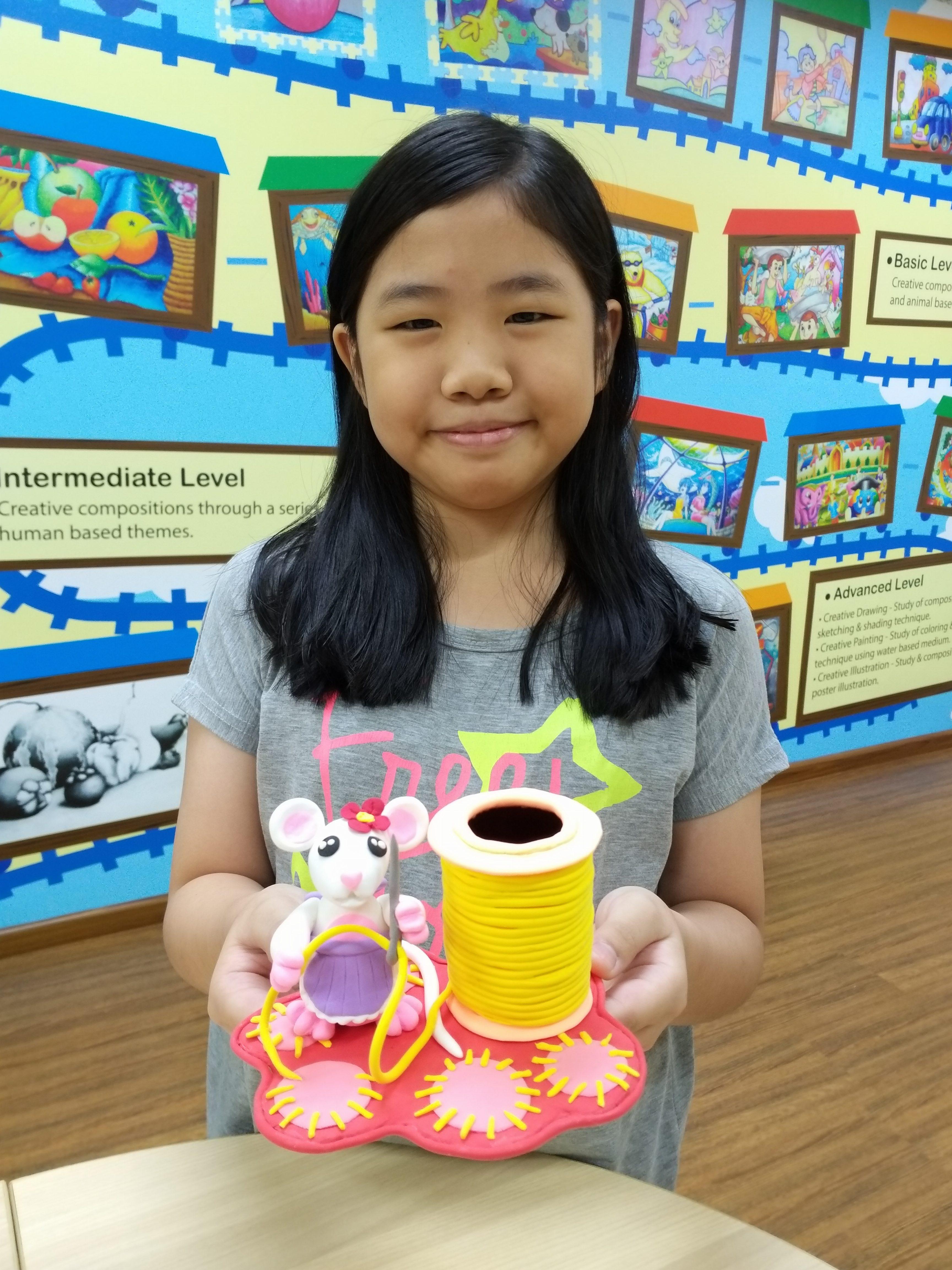 Year End School Holiday Workshop Program 2018 – G-Clay (Pen Holder Series)