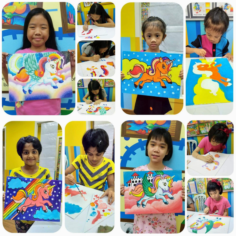 June Handicraft 2019 ~ Canvas Painting
