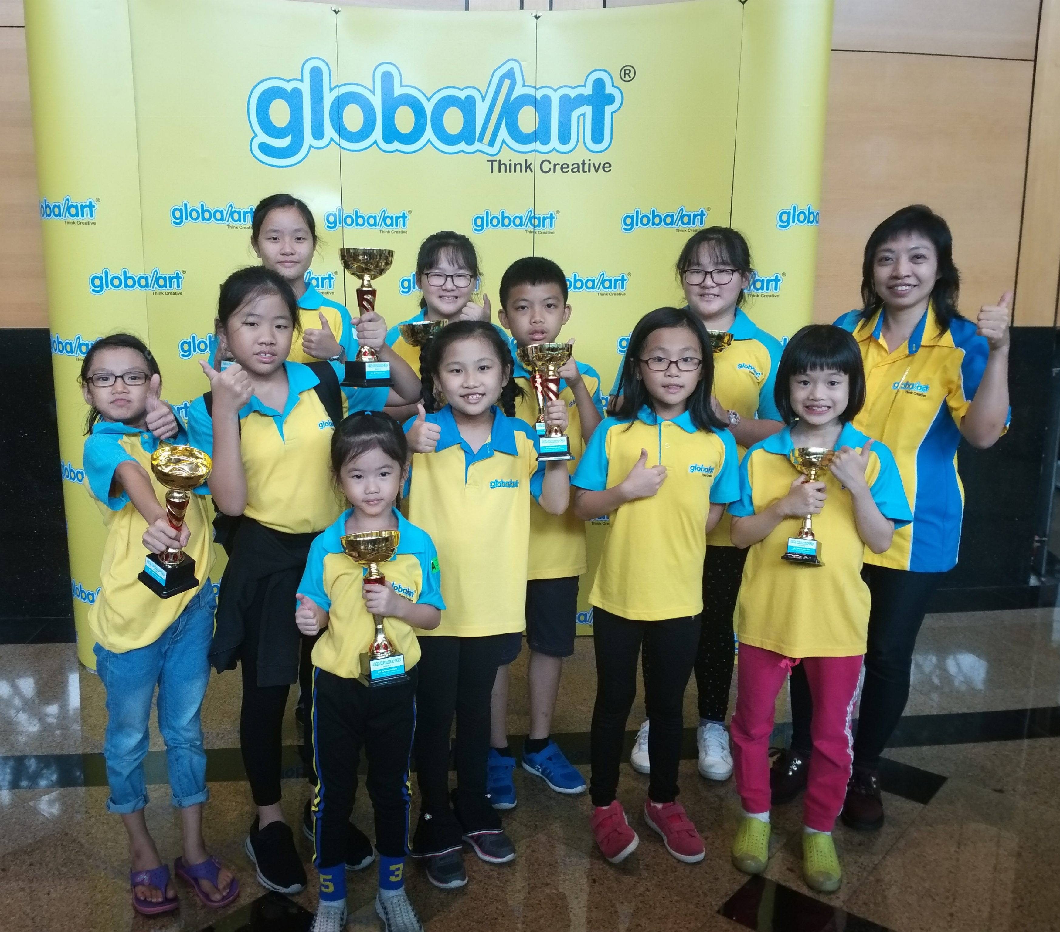 The Winners of 2019 Globalart National Art Competition