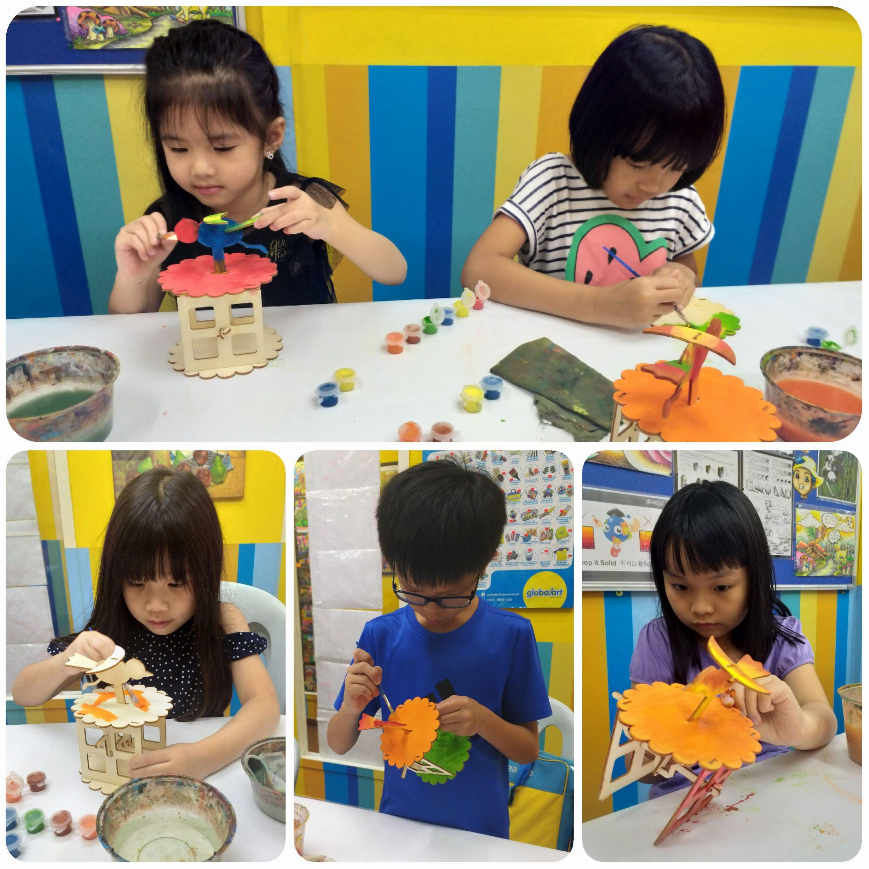 Annual handicraft time…..