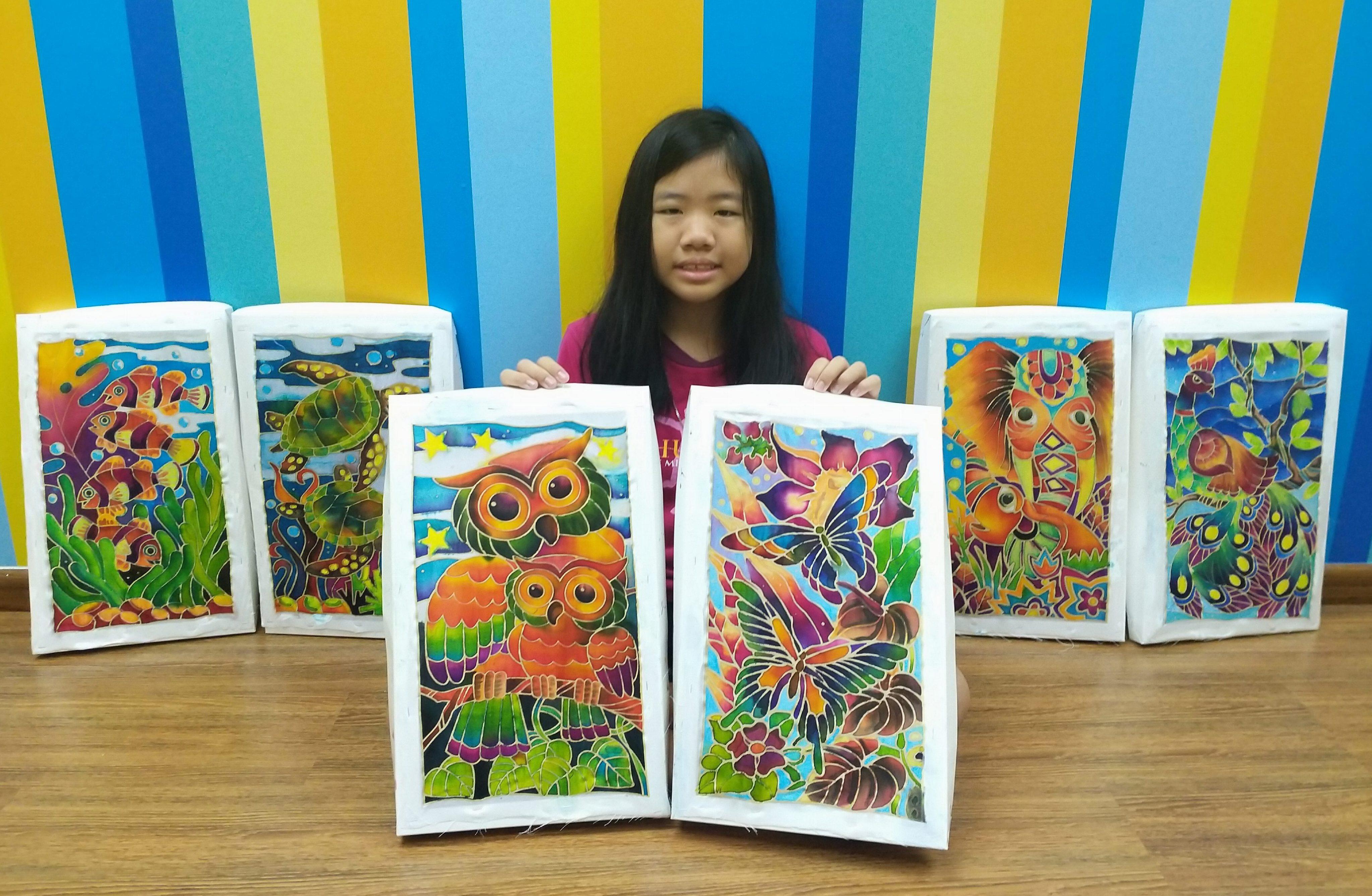 2019 Year End School Holiday Workshop ~ Batik Art