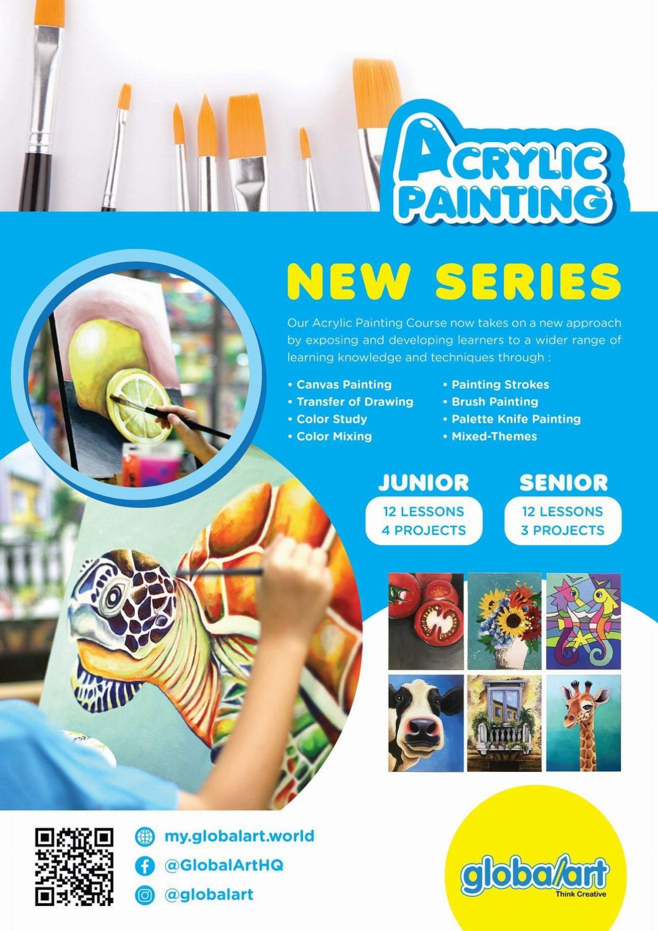 2019 New Series of Acrylic Painting (Junior & Senior)
