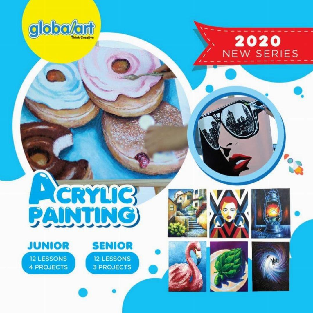 Enhancement Program ~ Acrylic Painting (2020 Series – Junior & Senior)