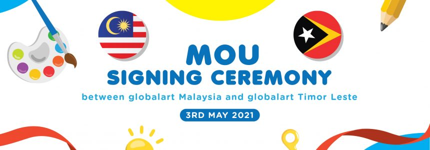 MOU Signing Ceremony of globalart Timor-Leste